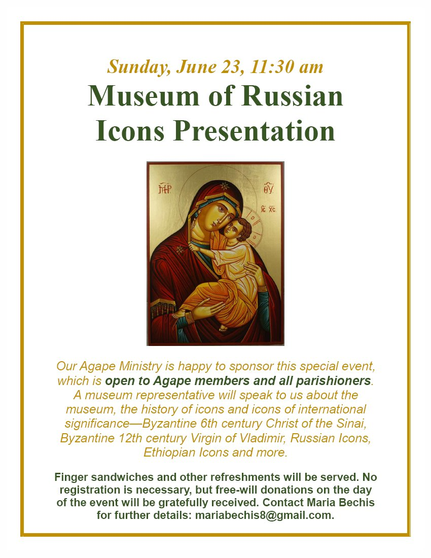 [Museum of Russian Icons Presentation in Nashua, New Hampshire]