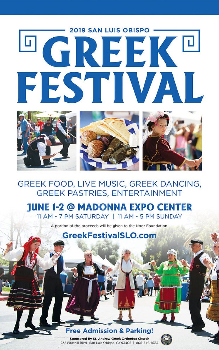 [San Luis Obispo, California Greek Festival]