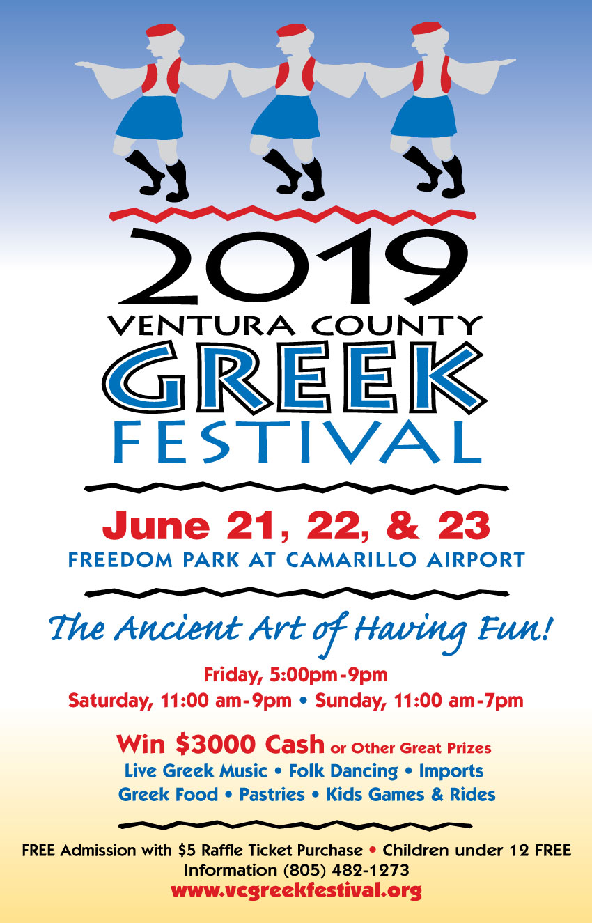 [Ventura County Greek Festival in Camarillo, California]